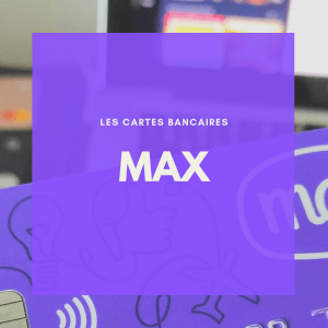 La carte MAX sans frais à l'international